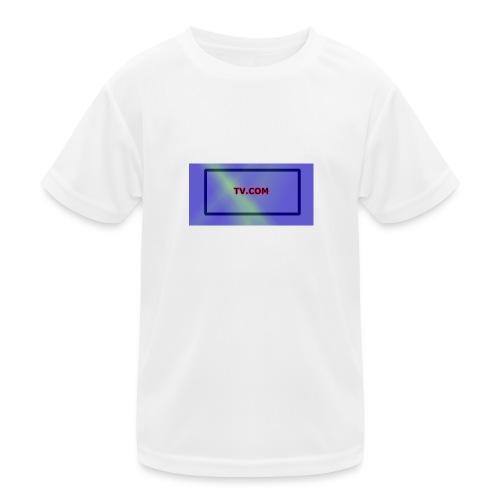 TV.COM - Lasten tekninen t-paita