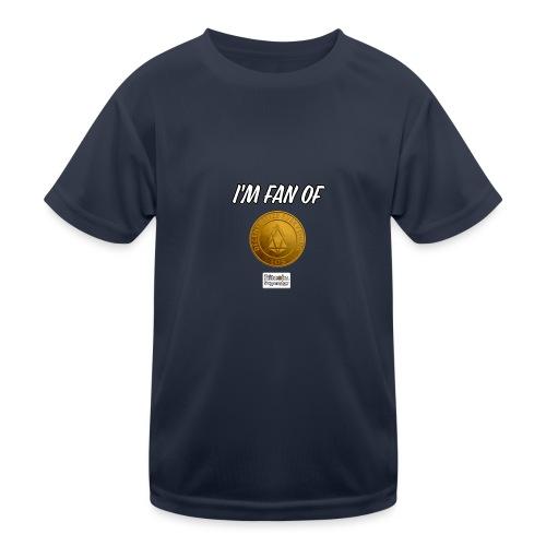 I'm fan of Eos - Maglietta sportiva per bambini