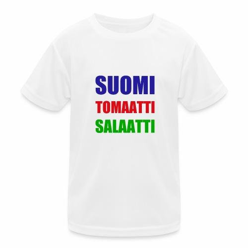 SUOMI SALAATTI tomater - Funksjons-T-skjorte for barn