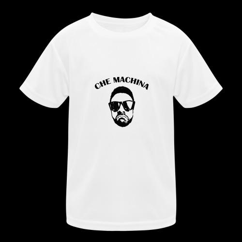 CHE MACHINA - Maglietta sportiva per bambini
