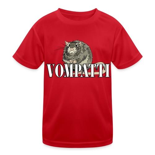 Vompatti - Lasten tekninen t-paita