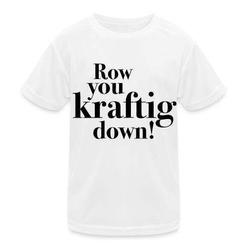 rowyoudown - Funksjons-T-skjorte for barn