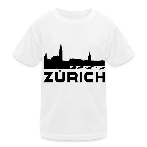 Zürich - Kinder Funktions-T-Shirt