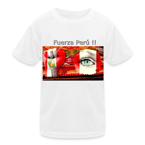 Telar Fuerza Peru I - Kids Functional T-Shirt