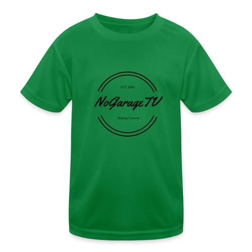 NoGarageTV (3) - Funktionsshirt til børn