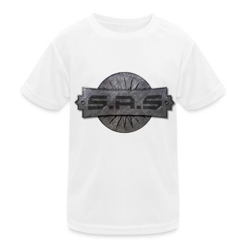 metal background scratches surface 18408 3840x2400 - Functioneel T-shirt voor kinderen