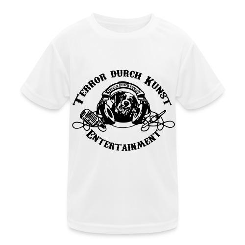 tdklogoschwarz 3 - Kinder Funktions-T-Shirt