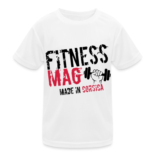 Fitness Mag made in corsica 100% Polyester - T-shirt sport Enfant