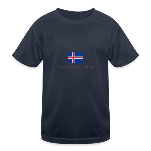 Iceland - Kids Functional T-Shirt