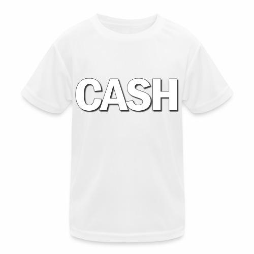 CASH png - Funktionsshirt til børn