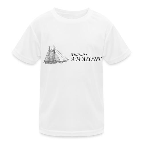 vessel-png - Lasten tekninen t-paita