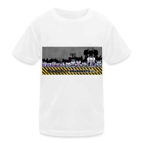 #MarchOfRobots ! LineUp Nr 2 - Funktionsshirt til børn