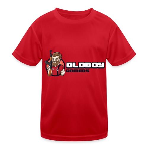 Oldboy Gamers Fanshirt - Funksjons-T-skjorte for barn