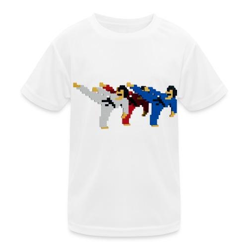 8 bit trip ninjas 2 - Kids Functional T-Shirt