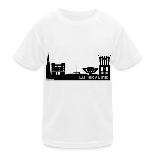 Lu skyline de Terni - Maglietta sportiva per bambini