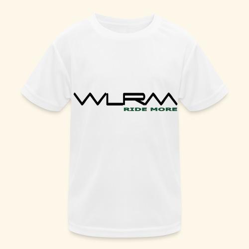 WLRM Schriftzug black png - Kinder Funktions-T-Shirt