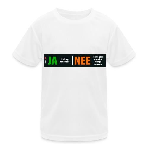 facebookvrienden - Functioneel T-shirt voor kinderen