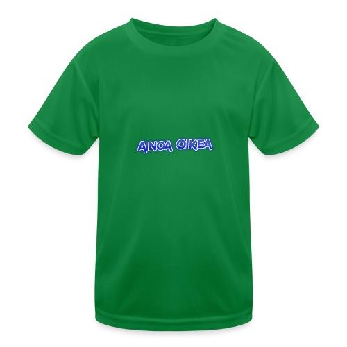 Ainoa oikea - Lasten tekninen t-paita