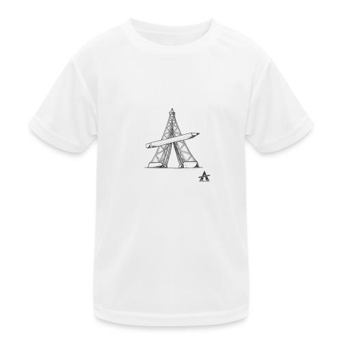 Tour Eiffel Crayon - T-shirt sport Enfant