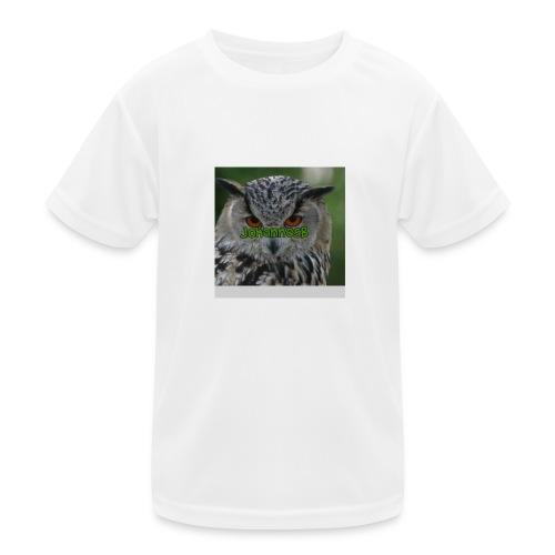 JohannesB lue - Funksjons-T-skjorte for barn