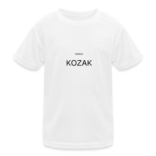 KOZAK - Funkcjonalna koszulka dziecięca