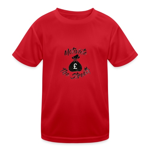 Motivate The Streets - Kids Functional T-Shirt