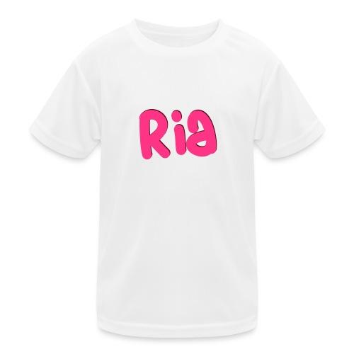 Ria Roo 3D - Kids Functional T-Shirt