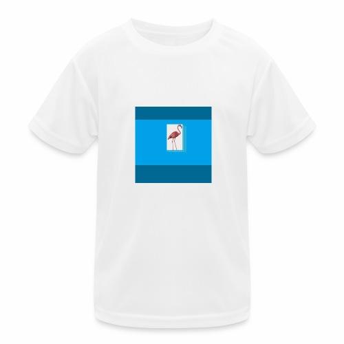 Flamingoscotteri - Maglietta sportiva per bambini