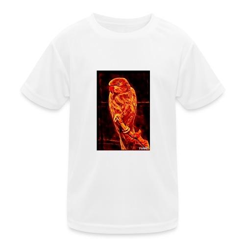 Bird in flames - Lasten tekninen t-paita
