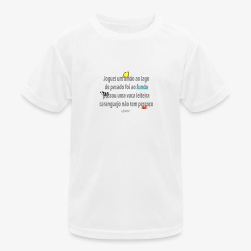 Versinho de infancia - Kids Functional T-Shirt