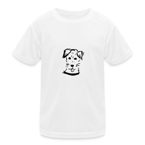 piesek a jpg - Funkcjonalna koszulka dziecięca