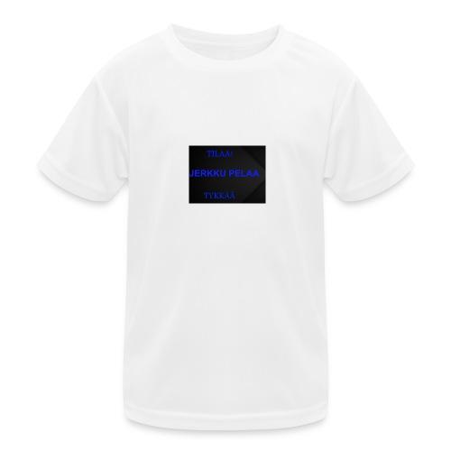 jerkku - Lasten tekninen t-paita