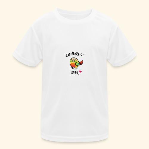 Conures' Lover: Ananas - T-shirt sport Enfant