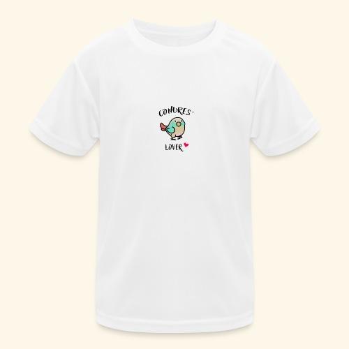 Conures' Lover: blue cinamon - T-shirt sport Enfant