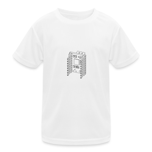 TMC21x0 (no text). - Kids Functional T-Shirt