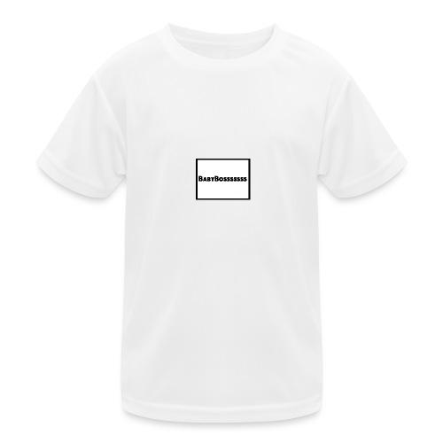 BabyBosssssss - Kids Functional T-Shirt
