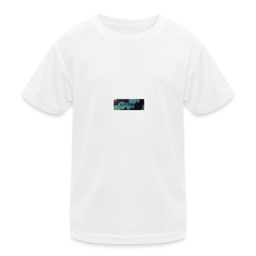 Extinct box logo - Kids Functional T-Shirt