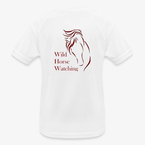 Logo Aveto Wild Horses - Maglietta sportiva per bambini