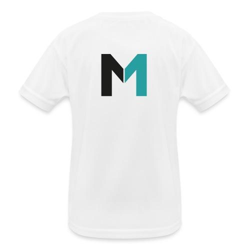 Logo M - Kinder Funktions-T-Shirt