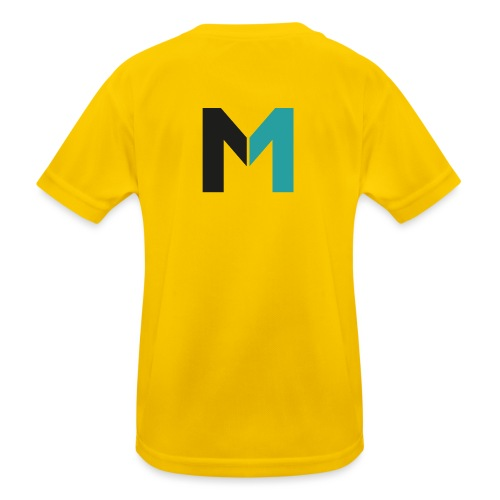 Logo M - Kinder Funktions-T-Shirt