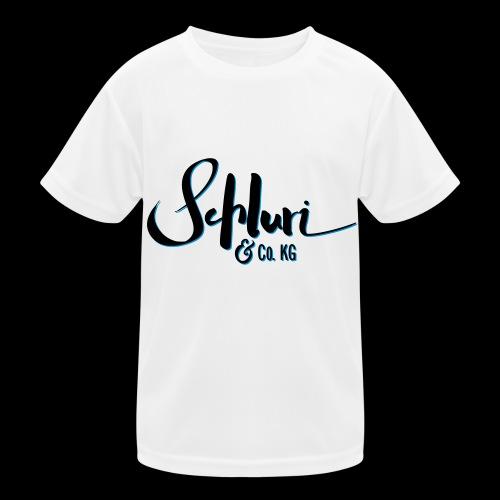 Schluri - Kinder Funktions-T-Shirt