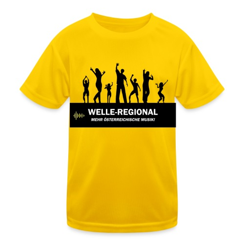 Welle-Regional PartyTime - Kinder Funktions-T-Shirt