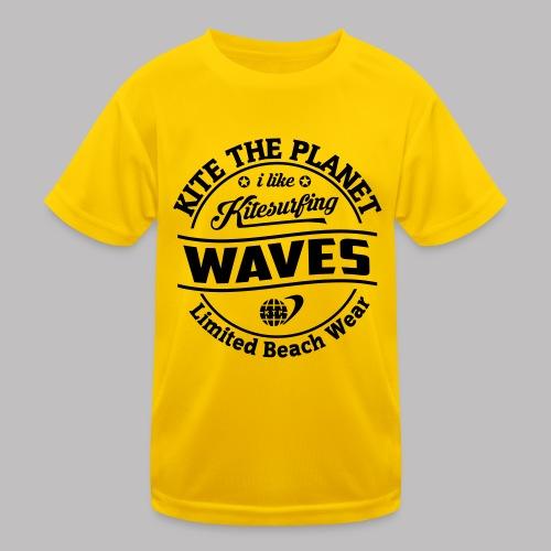 waves water ktp - Kinder Funktions-T-Shirt