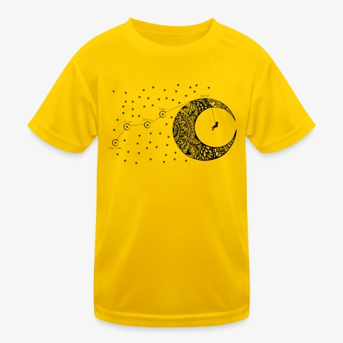 Dream your routes - Kids Functional T-Shirt