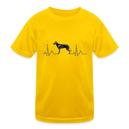 ECG met hond - Functioneel T-shirt voor kinderen