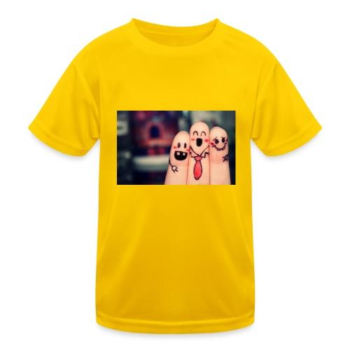 słodkie palce - Funkcjonalna koszulka dziecięca