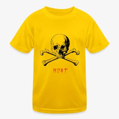MORT - T-shirt sport Enfant