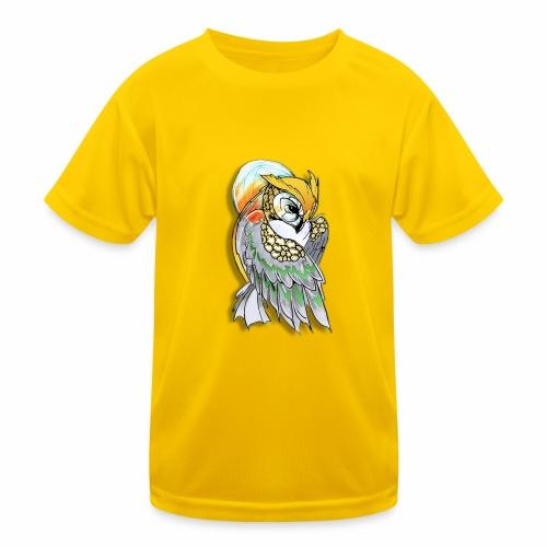 Cosmic owl - Camiseta funcional para niños