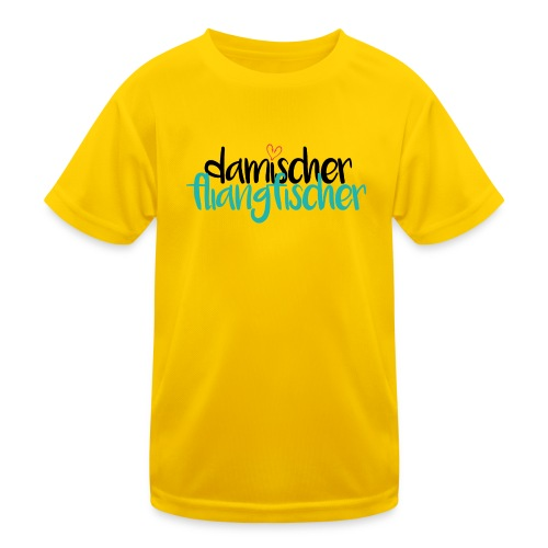 Damischer Doagfischer - Kinder Funktions-T-Shirt