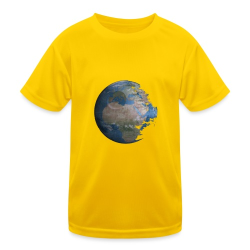 Death Earth - T-shirt sport Enfant